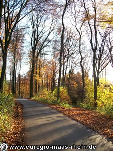 Fahrradtour Aachen Belgien Hombourg Auf Karte